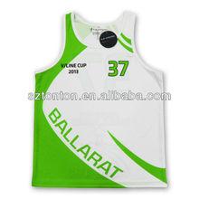 european Kid's sample basketball jerseys