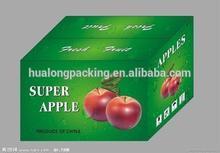High quality fruit carton box apples in corrugated cardboard
