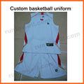 Para mujer runtowell impresos personalizados de baloncesto/de baloncesto jersey uniforme diseño/conjunto uniforme de baloncesto