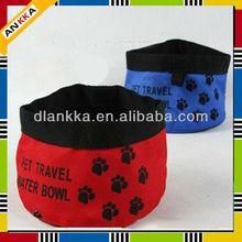 Foldable Camping Travel Bowl , folding pet bowl