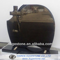 pierre tombale en granit noir de shanxi