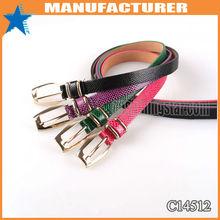 Patent snake narrow width belt