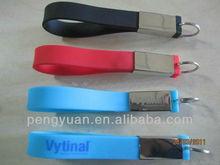 Factory wholesale wrist band usb silicone with customized logo (PY-U-549)