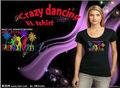 Animation heißer verkauf damen benutzerdefinierte/kinder/, männer el t- shirt( großhandel& hohe qualität)