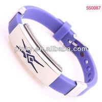 Fashion Silicone Bracelet Child Tracking Bracelets