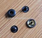 13mm four parts metal snap button metal gun color