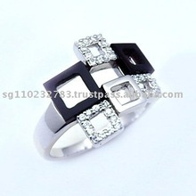 Onyx Fashion Jewellery Ring