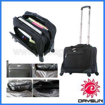 Business travel trolley laptop bag