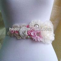 Ivory Bridal Sash Belt,Ivory Wedding Sash Belt,Wedding Dress Accessories