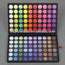 wholesale makeup 120 colors eyeshadow palette/branded eyeshadow makeup palettes