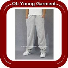 wholesale polyester sports long pants for men and women ,comfortable wear