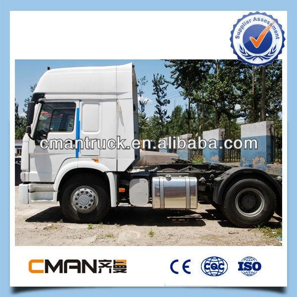 Chinois howo tracteur double essieu remorque de camion à vendre
