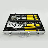 BBQ tools set with Aluminium case