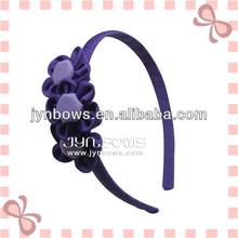 Fashion Accessories for Kids - Handmade Grosgrain Three Rose decoration Hairband for Children.