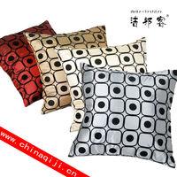 Home Decor Imitated Silk Baroque Printed Decorative Custom Throw Pillow