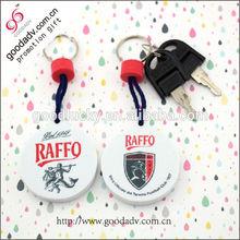 Heart shaped good quality new fancy keychain/key ring