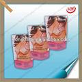 galões de plástico saco da embalagem nu mulher chinesa para embalagens de roupas