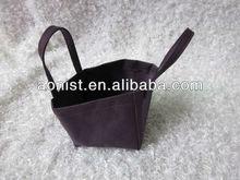 new fashion design purple cosmetic bag