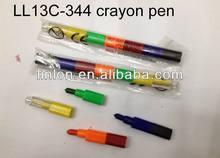 multicolor crayon pen