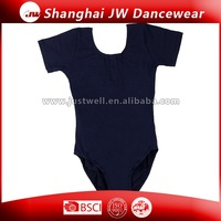Wholesale New Arrival Special Cotton Short Sleeve Ballet Leotard