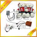 La costumbre de juguete grabadora de sonido/juguete caja de grabación