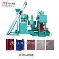 Yf100-800b cimento automático telha terrazzo que faz a máquina