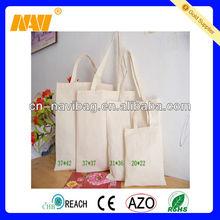 4 sizes plain cotton tote bag(NV-C0233)