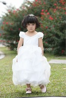 2013 latest design fancy princess girls long frock