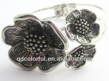 YB1959 make beaded flower bracelets pressed flower jewelry