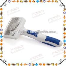New Small Self-cleaning Soft Slicker Brush
