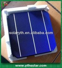 Hottest sale 156mmx156mm monocrystalline solar cells 6x6, 3BB, high qualtity, solar cells 3x6 in bulk order