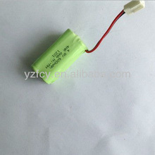4S 4.8V 600mAh AAA high quality rechargeable nimh battery pack