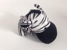 Zebra shape Stuffed plush dog toy Animal sound plush dog toy
