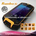 بيع ماء ساخن runbo x5 الهاتف تي موبايل هاتف مقاوم للماء