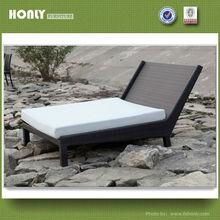 Outdoor rattan sofa bed