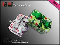 wholesale christmas tin box packaging