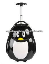 kids penguin trolley luggage