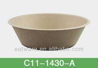 28oz (800ml) Bowl Biodegradable Disposable Bamboo Fibre Tableware