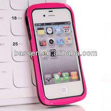 hybrid bumper case for iphone
