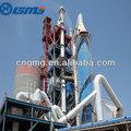 avanzado de producción de cemento de la planta