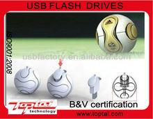 football shaped,usb flash drive OEM price