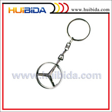 custom car brand 3d keycahin in metal