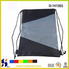 Cheap simple polyester drawstring bag shoes bag