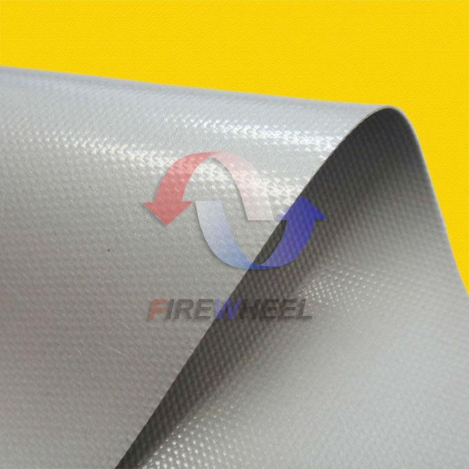 Fiberglass Cloth Coated Impregnated With Liquid Silicone