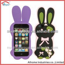 Shenzhen custom Cute stitch 3D animal silicone phone case