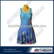 Recién para requisitos particulares del desgaste del tenis de la sublimación vestido de tenis
