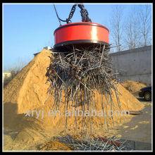 Super Strong Electromagnet HOT SALE MW5 steel scrap electromagnet lifter,installed on crane or excavator AND FORKLIFT