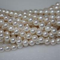 8-9mm AA fashion costume pearl strings