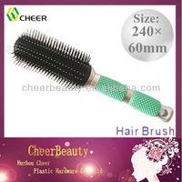 Cheap ABS Plastic Hair Brushes For Black Men HB039