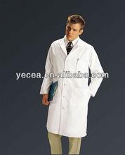 White cotton medical doctor coat